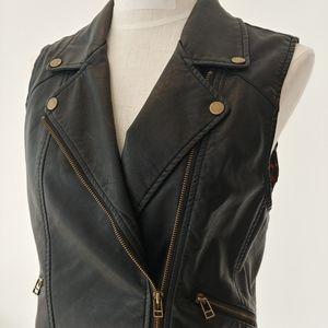 Sanctuary soft leather vest
